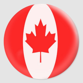 20 small stickers Canada Canadian flag