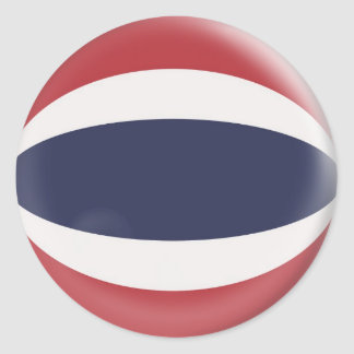 20 small stickers Thailand flag