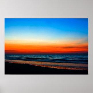 "20"" x 16"", Gulf Sunrise Poster"