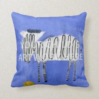 """20"""" x 20"""" Just Art Pillow  $59.95"""