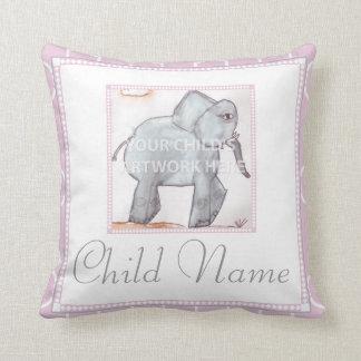 "20"" x 20"" Pink Lattice Pillow  $59.95"