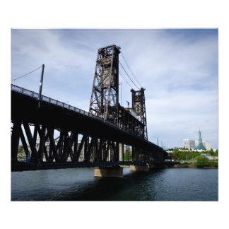20 x 24 Steel Bridge Portland Oregon Photographic Print