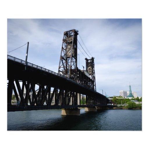 20 x 24 Steel Bridge. Portland Oregon Photographic Print