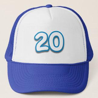 20 Year Birthday or Anniversary - Add Text Trucker Hat