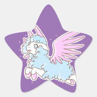 20Stickers Self-adhesive kawaii Sheep off the Star Sticker