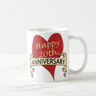 20th. Anniversar Coffee Mug