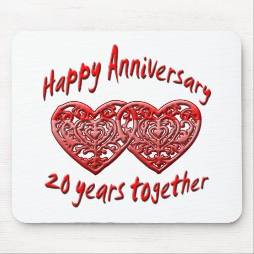 20th. Anniversary Mouse Pads