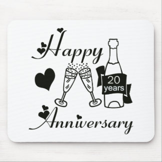 20th. Anniversary Mousepad