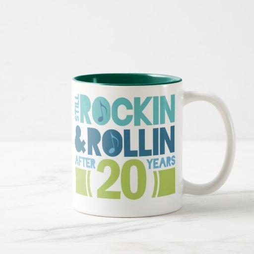 20th Anniversary Wedding Gift Mug