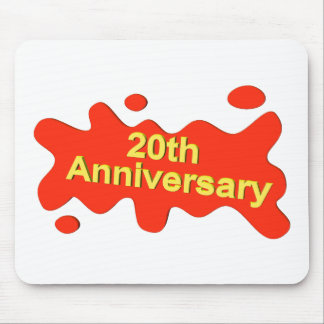 20th anniversaryt mouse pad