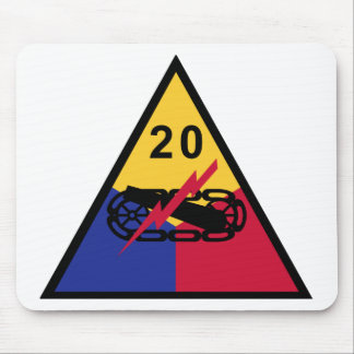 20th Armored Division Mousepads