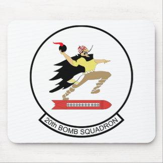 20th Bomb Squadron Mousepad