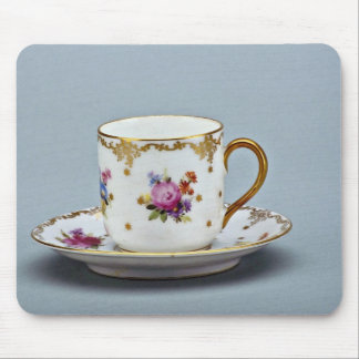 20th century coffee cup and saucer, Bavaria, Germa Mousepads