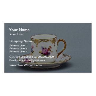 20th century coffee cup and saucer, Bavaria, Germa Pack Of Standard Business Cards