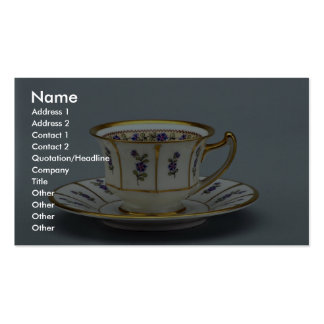 20th century coffee cup and saucer, Rosenthal, Ger Pack Of Standard Business Cards