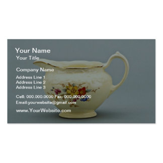 20th century creamer, Canada  flowers Pack Of Standard Business Cards