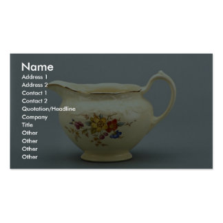20th century creamer, Canada Pack Of Standard Business Cards