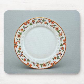 20th century dessert plate, Bavaria, Germany  flow Mousepads
