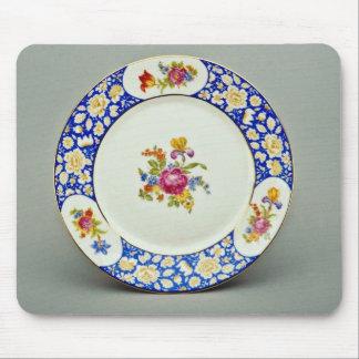 20th century dessert plate, Bavaria, Germany  flow Mousepad