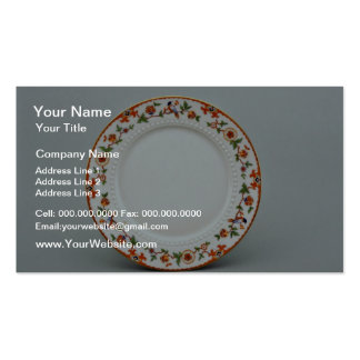 20th century dessert plate, Bavaria, Germany  flow Pack Of Standard Business Cards