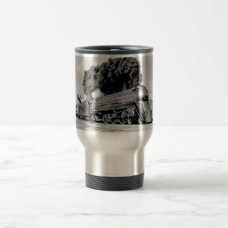 20th Century Limited Train Highball It! Vintage Travel Mug