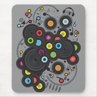 20th-Century Music Mouse Pad