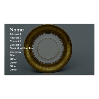 20th century saucer, Bavaria, Germany Pack Of Standard Business Cards