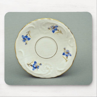 20th century saucer, Germany  flowers Mouse Pad