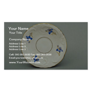 20th century saucer, Germany  flowers Pack Of Standard Business Cards