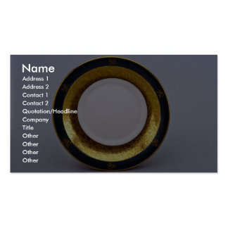 20th century saucer, Jaworzyna Sl., Poland Pack Of Standard Business Cards
