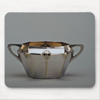 20th century silver plated sugar bowl, Canada Mousepad
