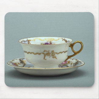 20th century tea cup and saucer, Bavaria, Germany Mousepad