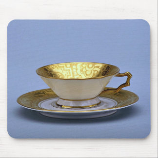 20th century tea cup and saucer, Bavaria, Germany Mouse Pad