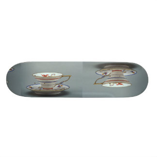 20th century tea cup and saucer, Germany Skate Deck