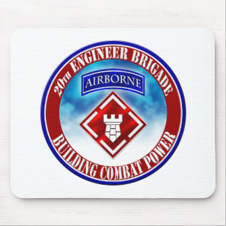 20th Engineer Brigade 001 Mousepad