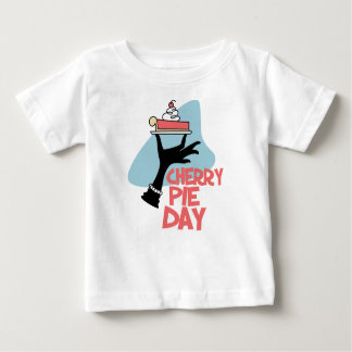 20th February - Cherry Pie Day - Appreciation Day Baby T-Shirt