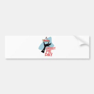 20th February - Cherry Pie Day - Appreciation Day Bumper Sticker
