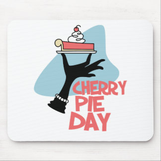 20th February - Cherry Pie Day - Appreciation Day Mouse Pad