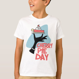 20th February - Cherry Pie Day - Appreciation Day T-Shirt