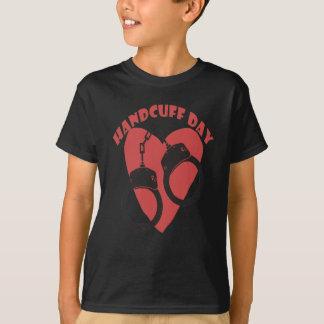 20th February - Handcuff Day - Appreciation Day T-Shirt