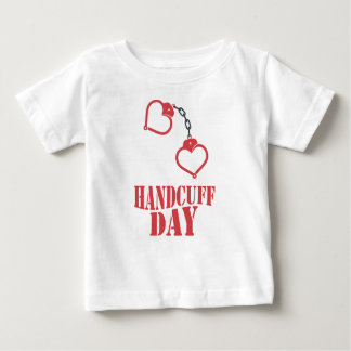 20th February - Handcuff Day Baby T-Shirt