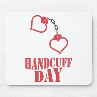 20th February - Handcuff Day Mouse Pad