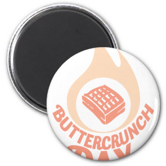 20th January - Buttercrunch Day 6 Cm Round Magnet