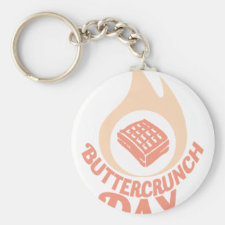 20th January - Buttercrunch Day Key Ring