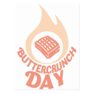 20th January - Buttercrunch Day Postcard