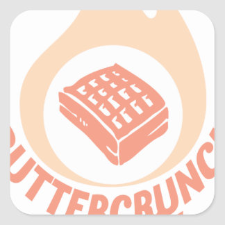 20th January - Buttercrunch Day Square Sticker