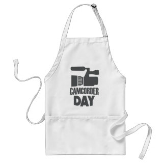 20th January - Camcorder Day Standard Apron