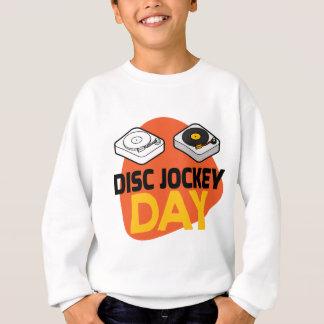 20th January - Disc Jockey Day Sweatshirt