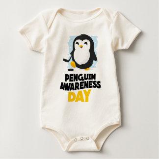 20th January - Penguin Awareness Day Baby Bodysuit