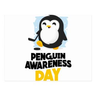 20th January - Penguin Awareness Day Postcard